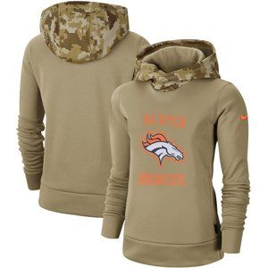Women's Denver Broncos Pullover Hoodie